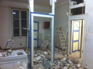 demolition cloison lyon