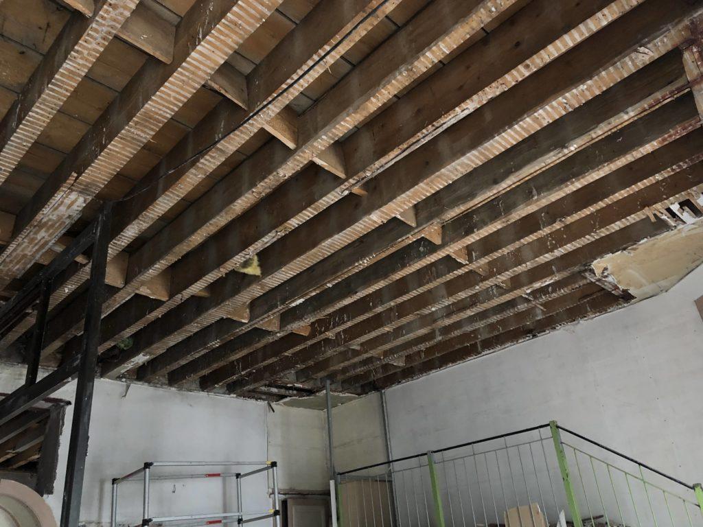 rénovation poutres apparentes