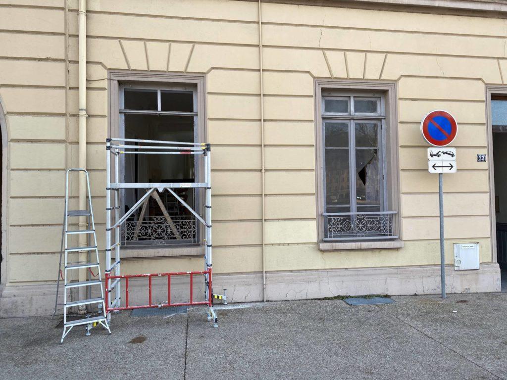 changement de fenêtres rénovation lyon
