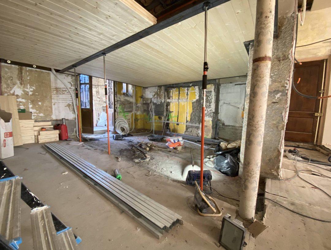 Rénovation complète d'un T4 – Quai Gillet – Lyon