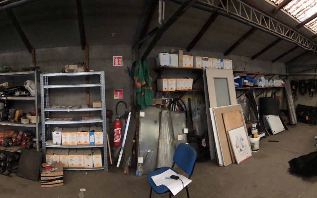 Rénovation d'un atelier en bureaux – EIFFAGE