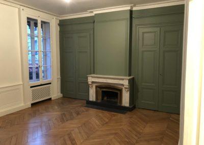 Agrandissement salon et peinture – Lyon 1