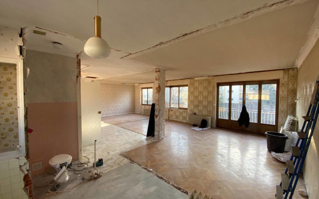 Transformation d'une maison en 7 studios à Lyon 8