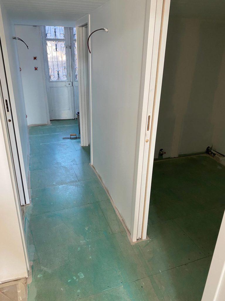 imperméabiliser le sol salle de bain